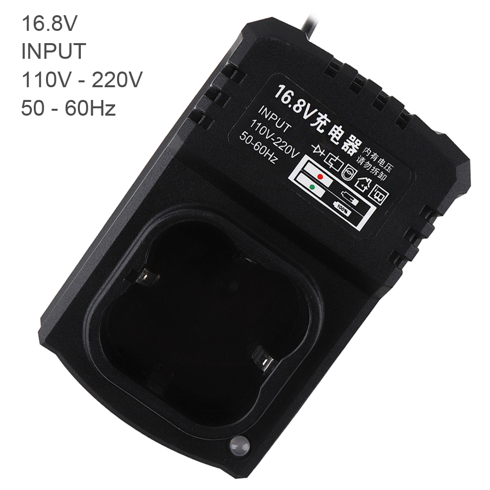 16.8V DC Portable Multifunction Li-ion Rechargeable Charger Support 110-220V Power Source for Lithium Drill / Electrical Wrench16.8V DC Portable Multifunction Li-ion Rechargeable Charger Support 110-220V Power Source for Lithium Drill / Electrical Wrench