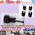 Frete grátis para SUZUK1 Vitara 2016 4 pcs Car styling corpo anti ferrugem fechadura Da Porta de chave à prova d' água fivela De Plástico dispositivo de Limite de guarnições