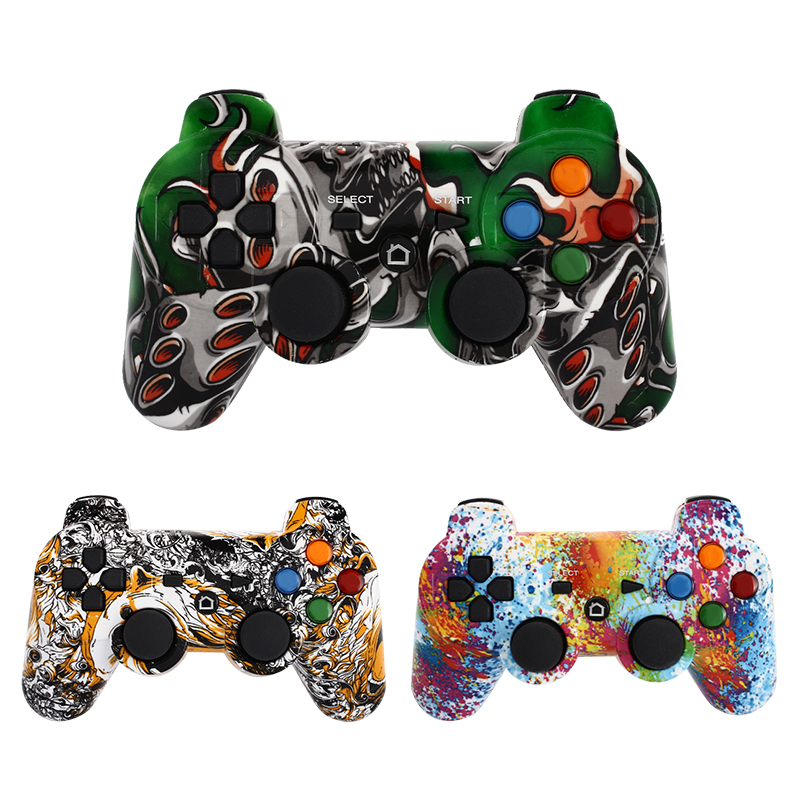 Wireless Bluetooth Rechargeable battery Gamepad game controller mini USB Joystick handle For Android smartphone PC Tablets 2018