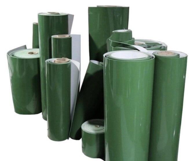 PVC Green Fat Line Industrial Conveyor BeltPVC Green Fat Line Industrial Conveyor Belt