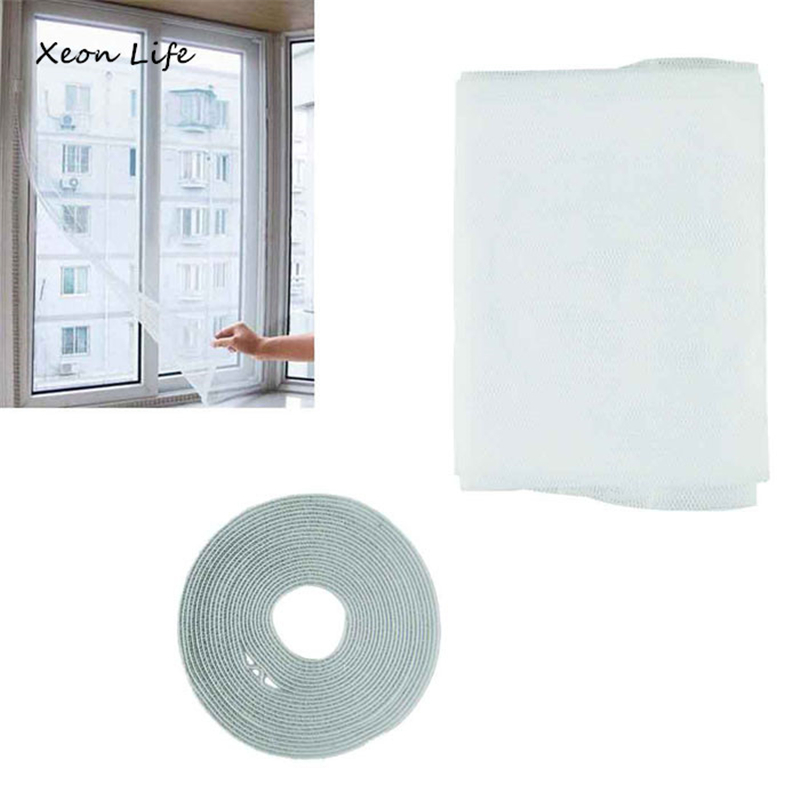 Hot Selling New 1pc 150*130 Cm Insect Fly Mosquito Window Net Netting Mesh Screen Curtains Drop Shipping Vovotrade