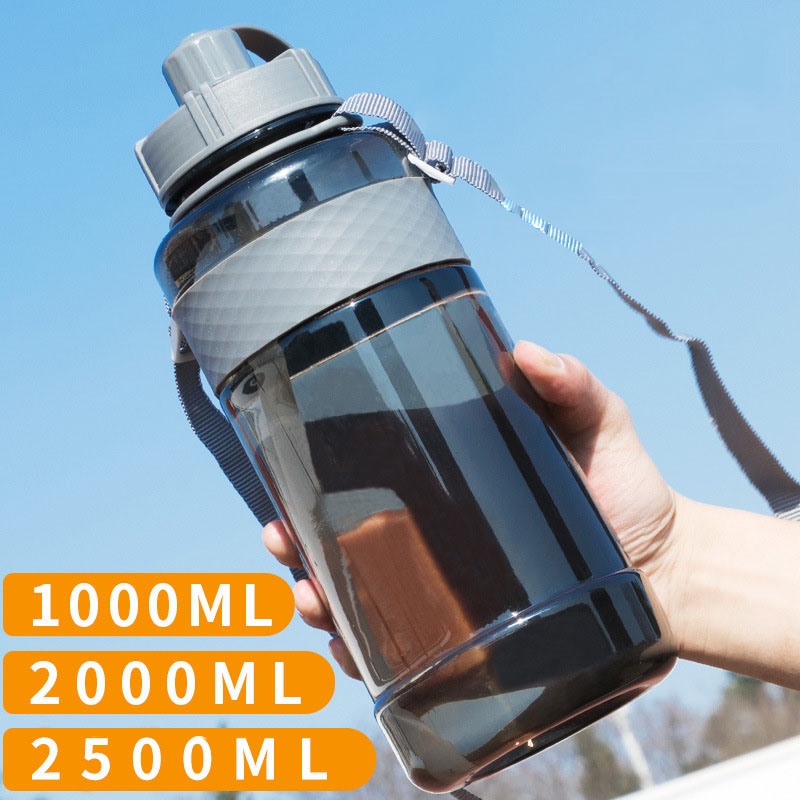 Hot Sale Yooap Portable Large Capacity Motion My Water Bottle Free Plastic For Sports Camping Hiking 650/1000/1500/2000/2500ml