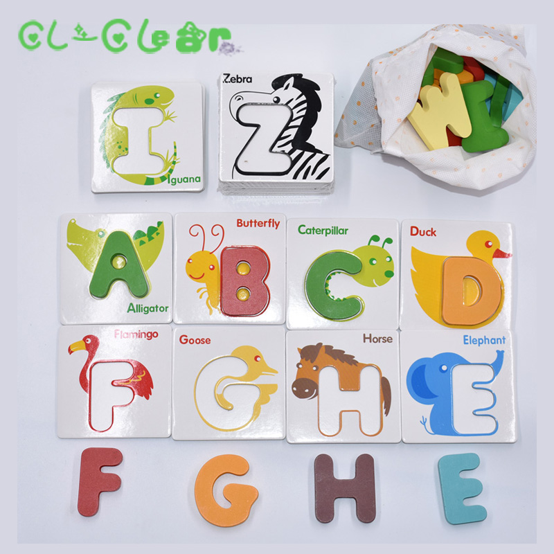 Cognitive letter puzzle baby toys wooden 3d metal puzzle Educational recognize 26 letters colorful card to help baby study osherson an invitation to cognitive science – v3 thinking cloth