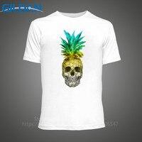 Create T Shirt Online Gildan Men S Short Pineapple Skull Crew Neck Fashion 2017 Tees