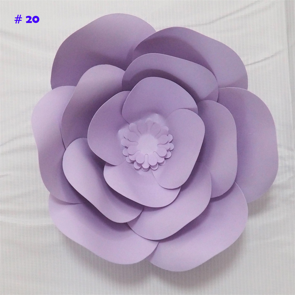 Aliexpress Buy Giant Paper Flowers Artificial Rose Diy Large