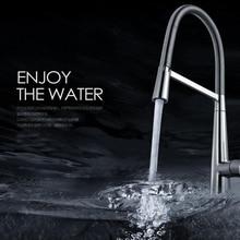 Поворотный Chrome Кухни Однорычажный Кран Ванной Смеситель Для Раковины Кран Горячей и Холодной Воды 360 градусов Поворот