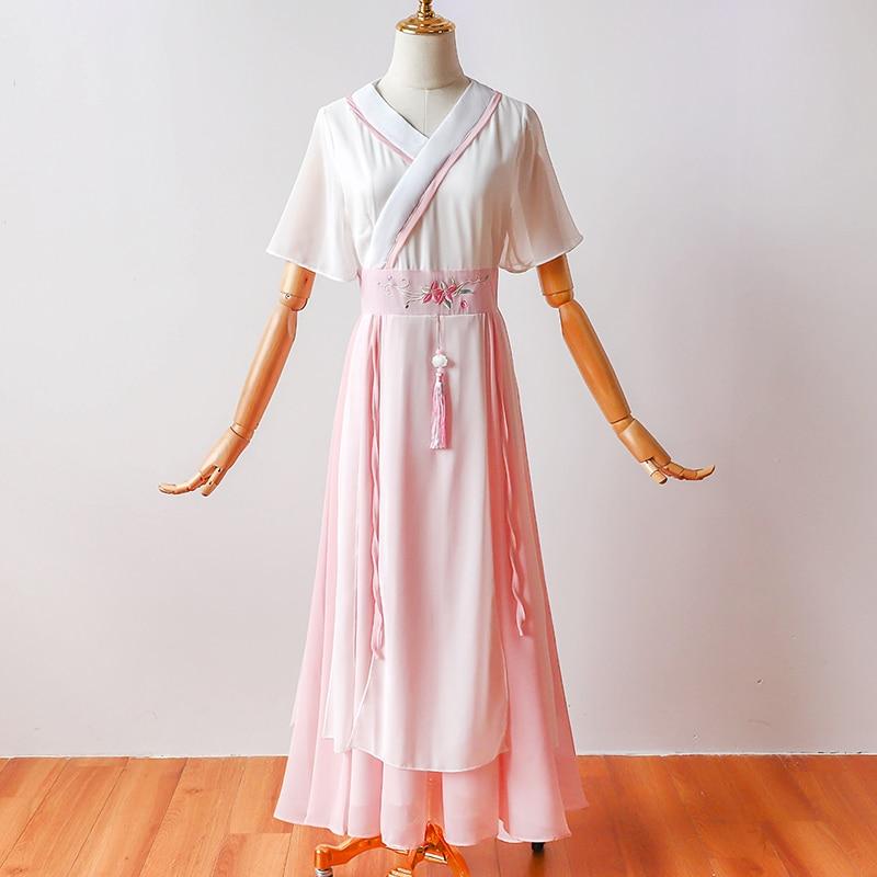 New Arrival Muyoms Elements Fairy Elegant Ethnic Women Hanfu New Chinese Wind-chiffon Traditional Dress Ancient Chinese Dress