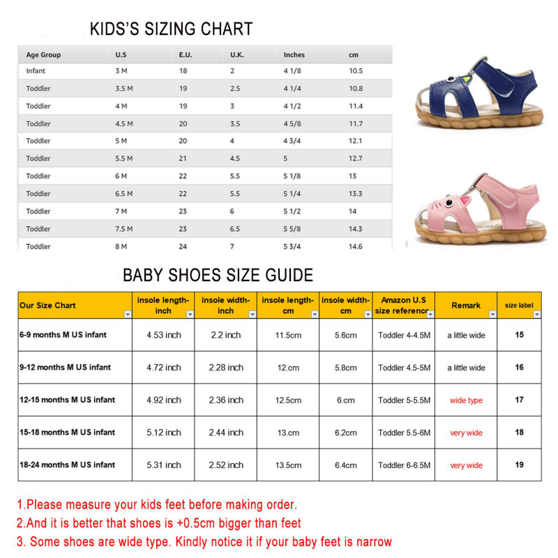 Baby Shoes Sandals for Girl Babies