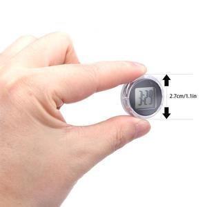TiOODRE новые мини точные мотоциклетные часы водонепроницаемый палка -на кронштейн для мотоцикла часы мото цифровые часы с секундомером часы автомобильные мото аксессуары автоаксессуары часы электронные настольные