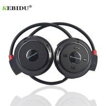 Kebidu ספורט אלחוטי Bluetooth אוזניות TF כרטיס + FM + MP3 Stere אוזניות אוזניות דיבורית שיחת עבור ios אנדרואיד טלפון