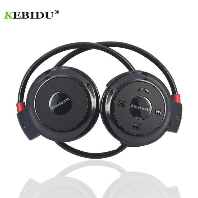 Kebidu Sport Wireless Bluetooth Kopfhörer TF Karte + FM + MP3 Stere Kopfhörer Headsets Hände freies anruf für ios android Telefon