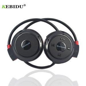 Image 1 - kebidu Sport Wireless Bluetooth Headphones TF Card +FM+MP3 Stere Earphones Headsets Hands free call for ios Android Phone