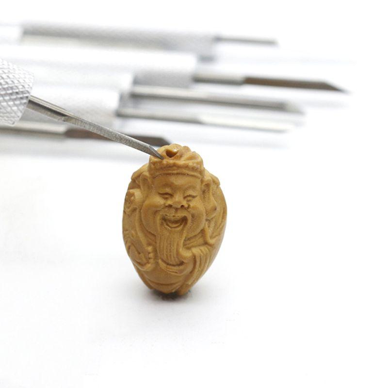 Wood Carving 7pc Aluminum Handle Knife Tool Set