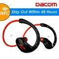 Dacom Спортсмен Bluetooth-гарнитура Беспроводные Наушники BT4.1 Спорт Стерео Наушники с HD Микрофон NFC auriculares для iPhone Samsung