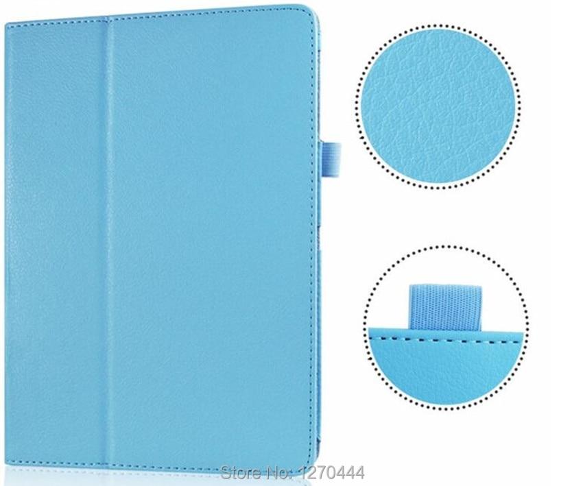 Samsung Tab S 10.5 Litchi cilt için Deri koruyucu kılıflar standı - Tablet Aksesuarları - Fotoğraf 4