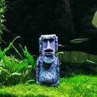 Socha z Velikonočního ostrova do akvária