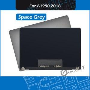 Оригинальный A1990 ЖК-экран в сборе серый для Macbook Pro Retina 15