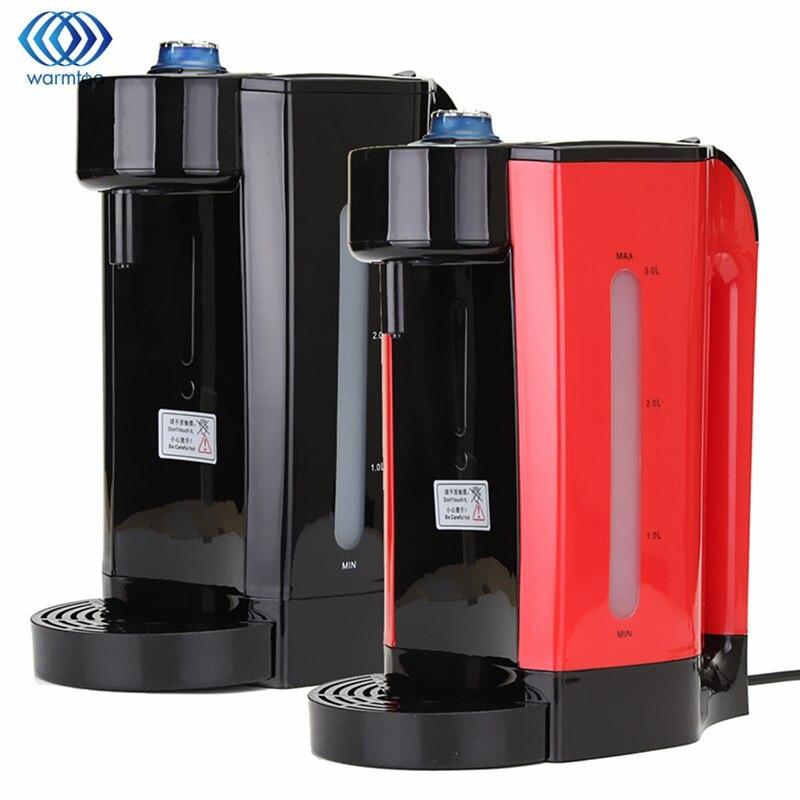 Дома мгновенный нагрев Электрический горячая вода 3l котел электрический чайник Desktop Кофе Чай Maker кипения чайник office 2200 Вт