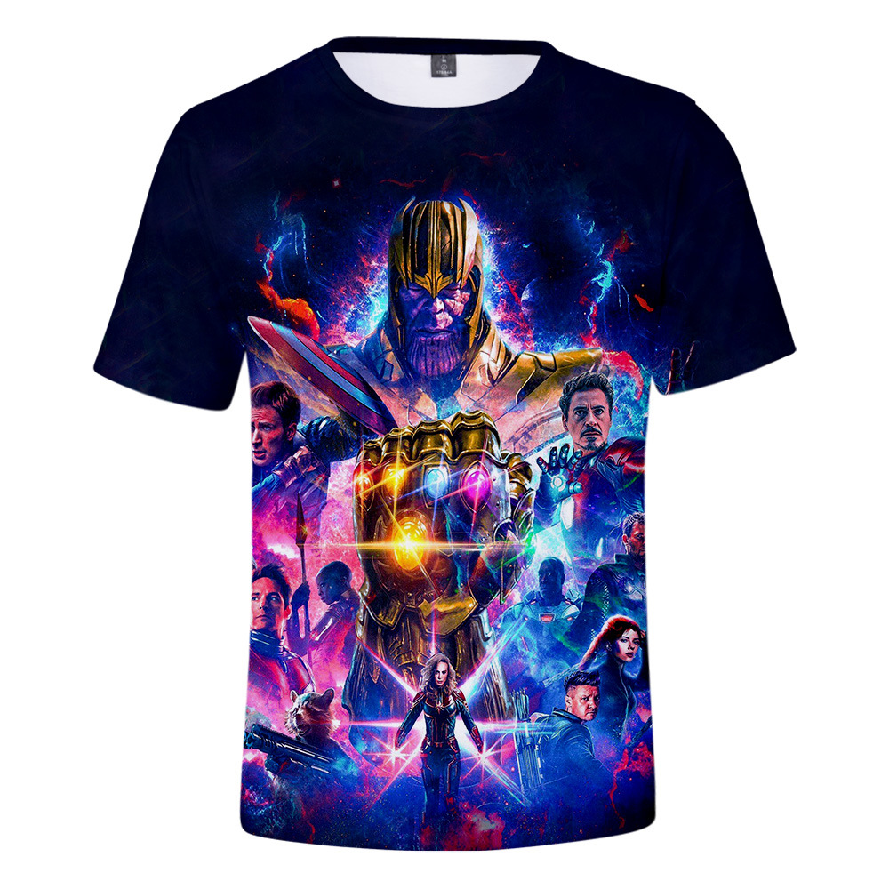 Running T Shirts Marvel Avengers Endgame 4 2019 New T Shirt Men women 3D Print T shirts Short Sleeve Harajuku Style Tshirt Tops in Running T Shirts from Sports Entertainment