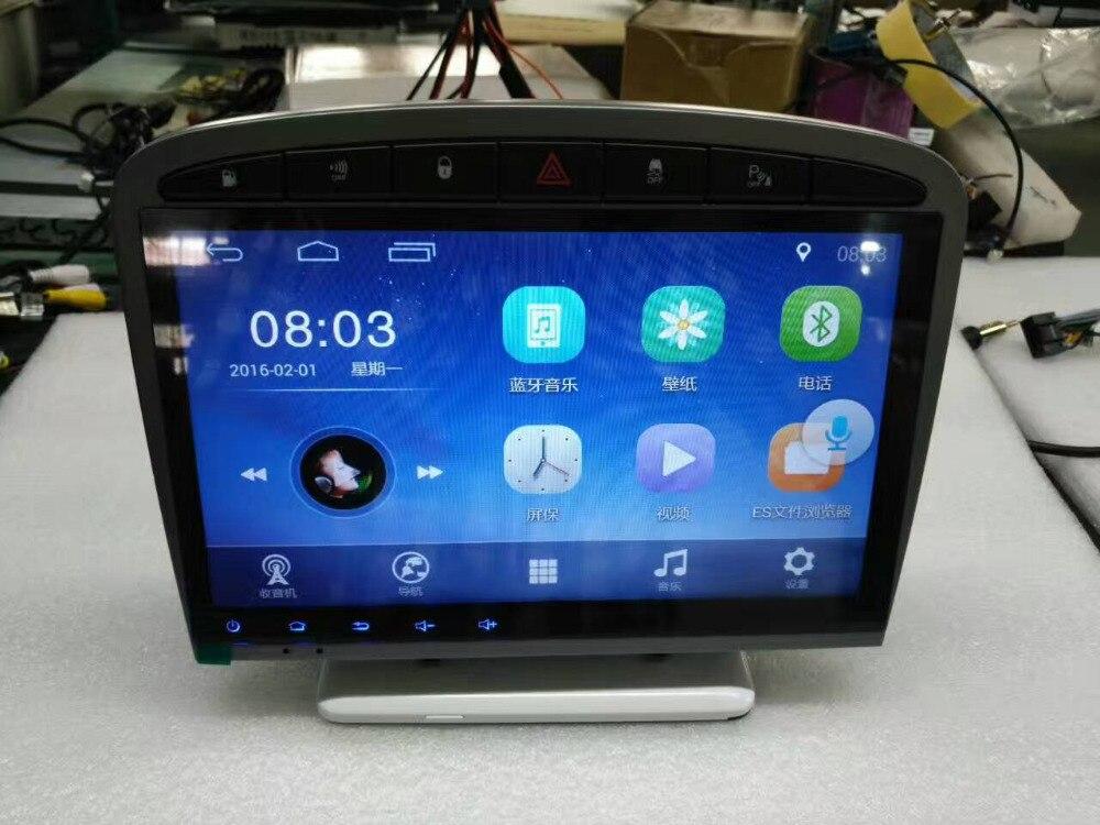 """imágenes para 9.2 """"2 Din 6.0.1 Android Reproductor de DVD Del Coche de Navegación Del Coche de Radio Estéreo Reproductor de Audio para Peugeot 308 2014"""