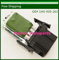 Free Shipping New Motor Resistor For VW Volkswagen Polo MK4 /1H0 959 263