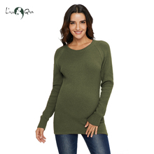 Женская одежда с длинным рукавом, вязаные пуловеры, свитер для беременных, зимний теплый мягкий свитер для беременных