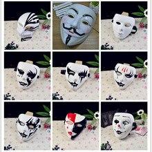 Jabbawockeez маска в стиле хип-хоп, ПВХ, карнавальный костюм на Хэллоуин, вечерние маски V для вендетты, анонимированная маска Guy faukes Disobey, один размер