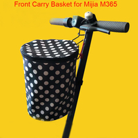 Electric Scooter Carry Front Bag Basket Shelf For Xiaomi Mijia M365 Scooter Electric Skateboard Bike Storage