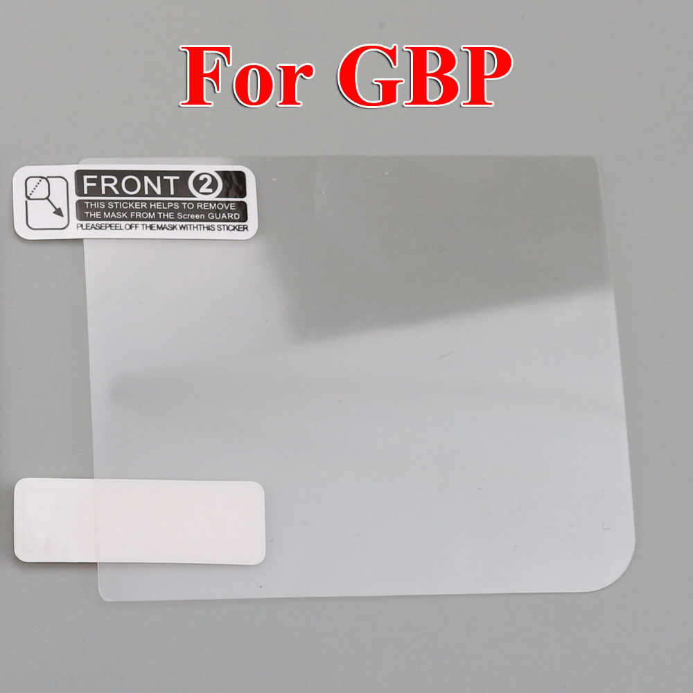 Image 5 - ChengHaoRan 120PCS mix models LCD Screen Protector Protective Film for Gameboy Color for GBA GBA SP GBC GB GBP for GBM Console-in Replacement Parts & Accessories from Consumer Electronics