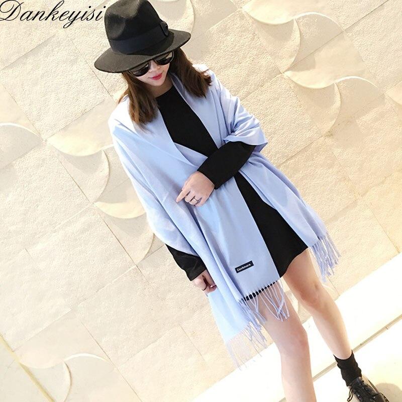 DANKEYISI Bufanda de marca de lujo Unisex 2017 Bufanda de cachemira - Accesorios para la ropa
