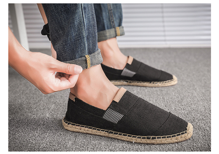 HTB1nG6Wj9cqBKNjSZFgq6x kXXap OUDINIAO Mens Shoes Casual Male Breathable Canvas Shoes Men Chinese Fashion 2019 Soft Slip On Espadrilles For Men Loafers