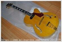Custom Shop L5 Gitarre Hohlkörper Jazz Stil Rosenholz Bridge & Pickguard Chinesische Elektrische Muscial Instruments freies verschiffen
