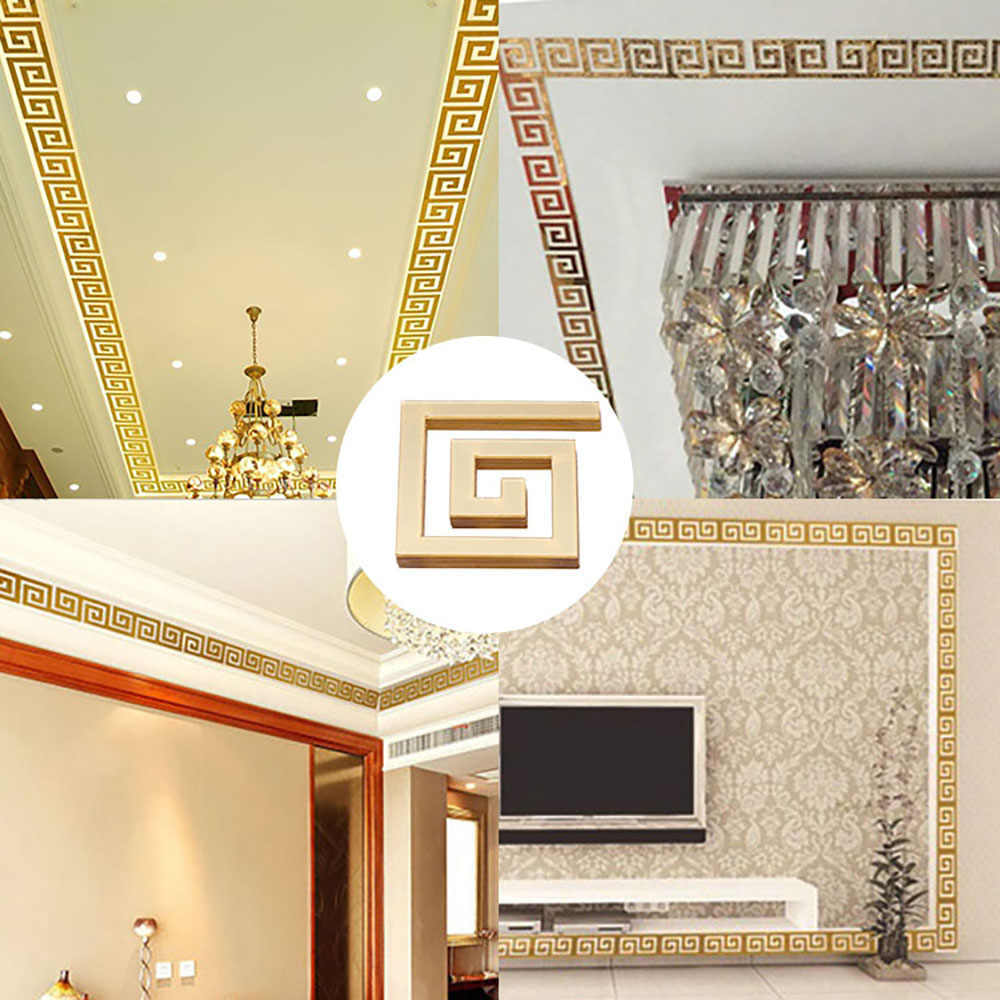 Lace 3D Acrylic Mirror Wall Stickers Suspended for Ceiling Decorate Sticker DIY Home Background Wall Decoration