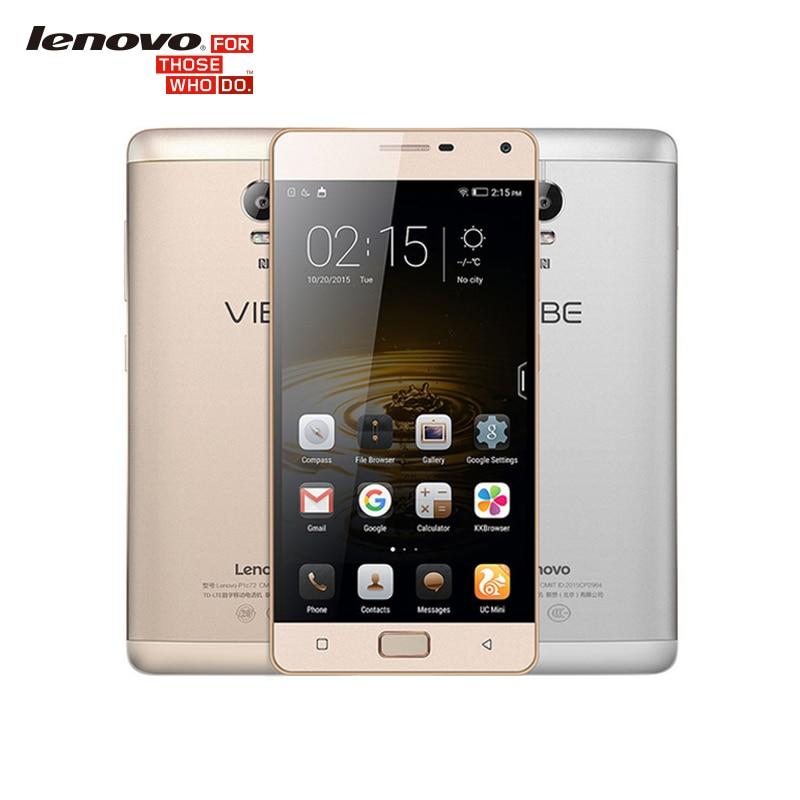 Original Lenovo Vibe P1 C58 5000mAh 4G LTE Snapdragon 615 Octa Core 2G RAM 5 5