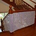 Новый безопасный детей прочная изгородь защиты сетей дети восхождение балконом Stairway ребенок защитная сетка для защитная сетка чистая