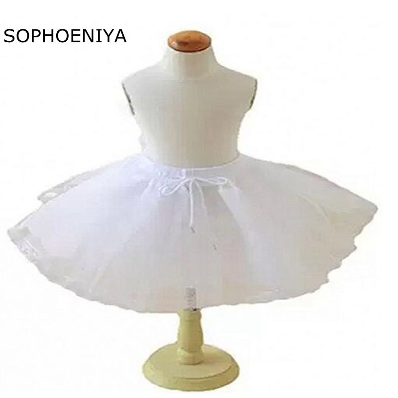 New Arrival Underskirt Baby Size Crinoline Petticoat Jupon Mariage 2020 Rockabilly Dress Wedding Accessories Jupon Rockabilly