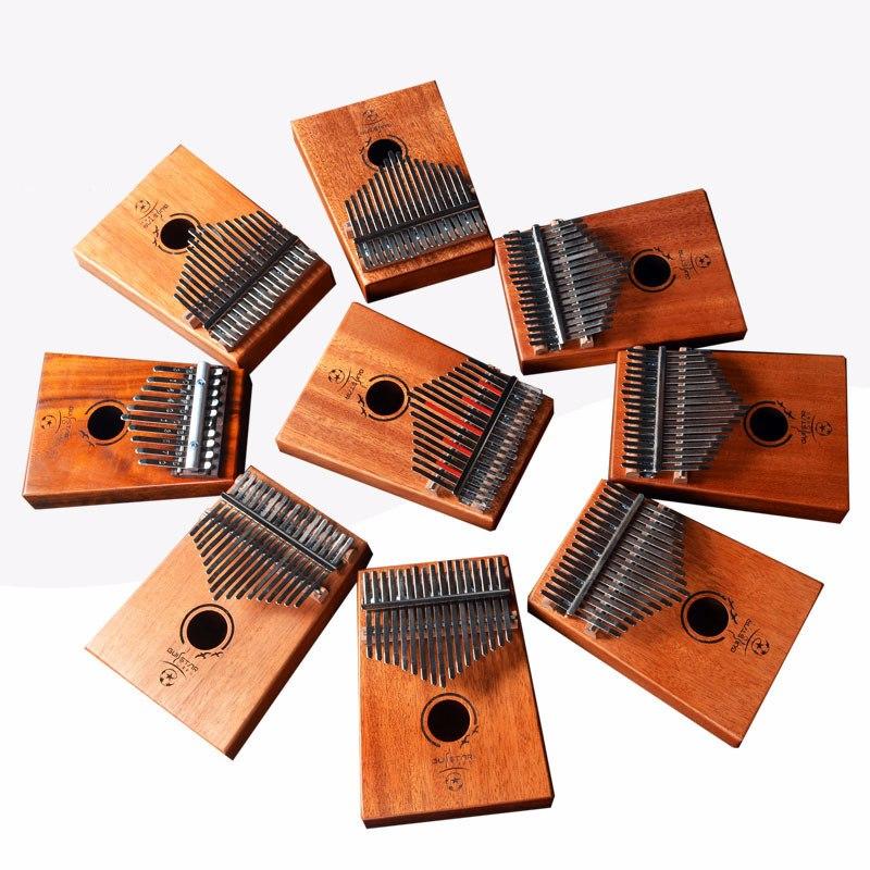 17 touches ton bois de santal Kalimba africain Mbira pouce Piano doigt Percussion clavier Instruments de musique
