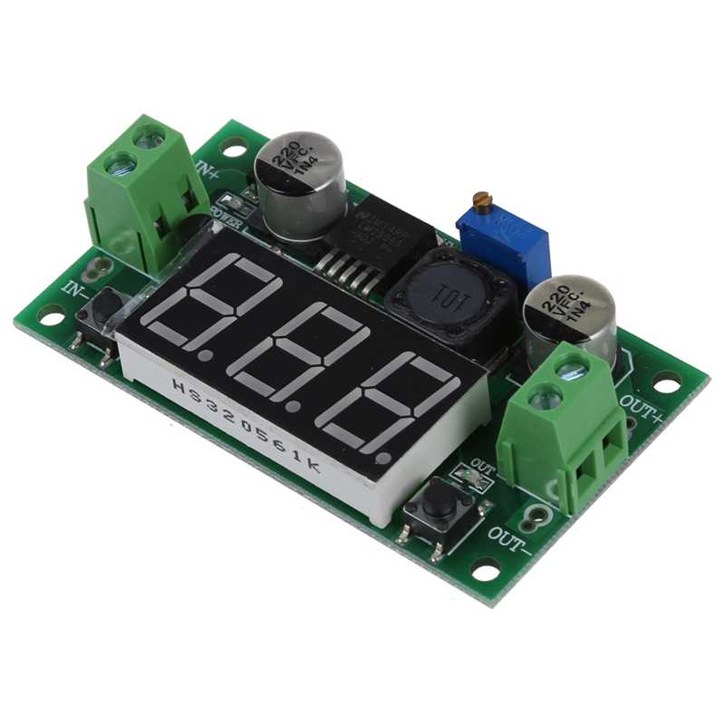 Adjustable Updated DC-DC LM 2596 Converter Buck Step Down Regulator Modul Daya