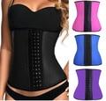 O envio gratuito de 8 cores 4 Ossos De Aço moda feminina shaper cincher cintura espartilho do látex 8112