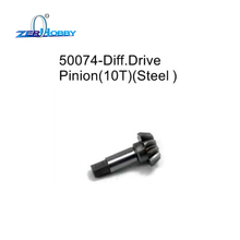 HSP RACING RC CAR SPARE PARTS ACCESSORIES 50074 DIFF. DRIVE PINION 10T STEEL FOR 1/5 GAS CARS 94050 94051 94054 94054-4WD