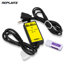 Car Adapter Auto Audio MP3 Player Interface USB AUX Cable MP3/WMA Decoder Audio 3.5mm Virtual CD Changer for Mazda CX 3 6(China)