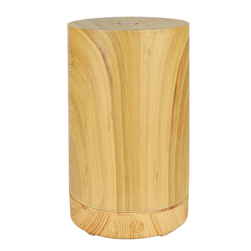 100ml Wood Air Humidifier for Home Ultrasonic Humidifier Aromatherapy Aroma Essential Oil Diffuser Mist Maker Atomizer