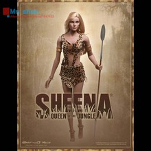 Phicen PL2014-50 1/6 Scale Jungle Queen Sheean  with Large Bust Seamless Body 1:6 Collector Figure Toys