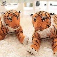 BOLAFYNIA simulación tigre acostado niños tigre De Peluche de juguete de peluche para el regalo de cumpleaños