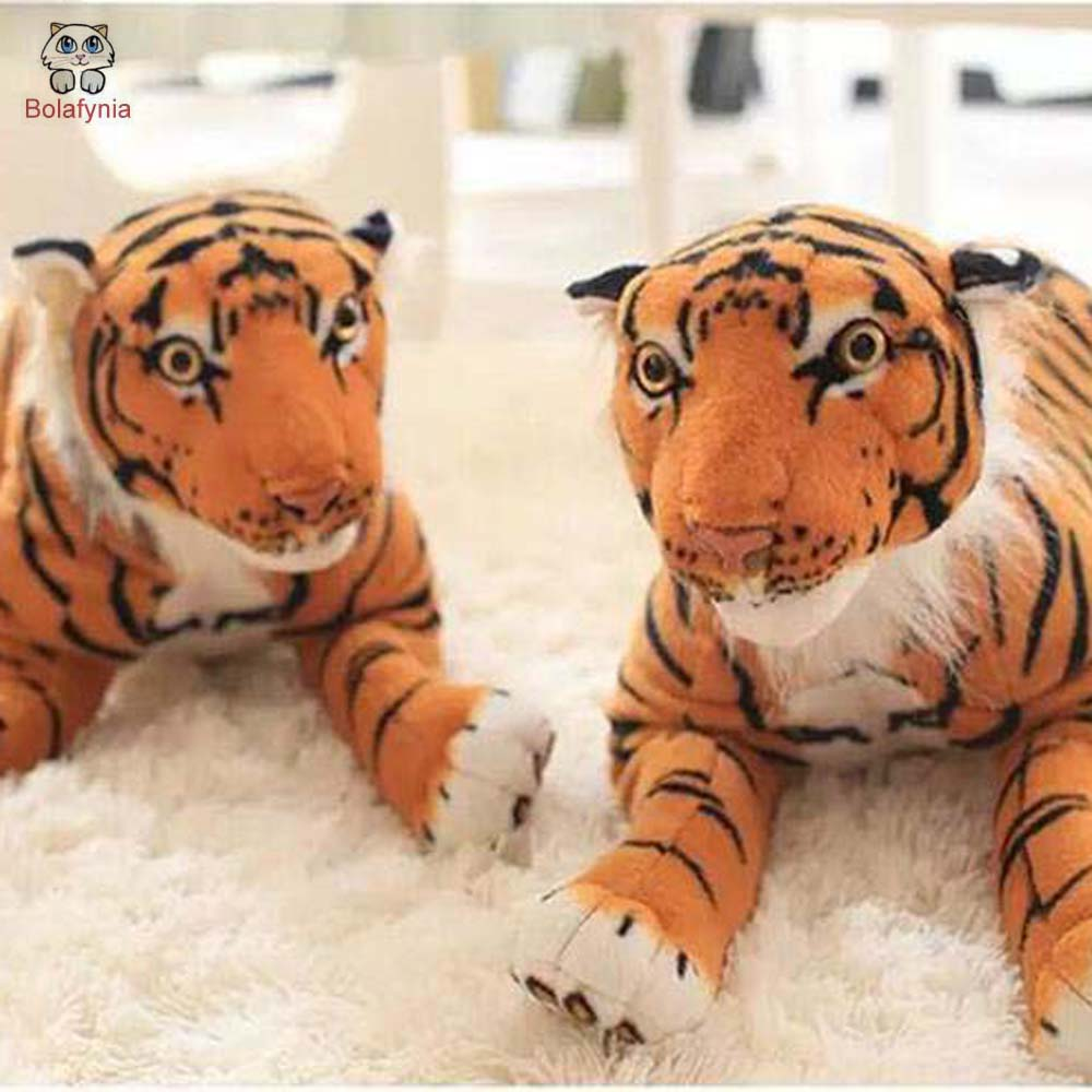 BOLAFYNIA simulation lying tiger children plush Stuffed toy tiger for birthday gift stuffed animal 145cm plush tiger toy about 57 inch simulation tiger doll great gift w014