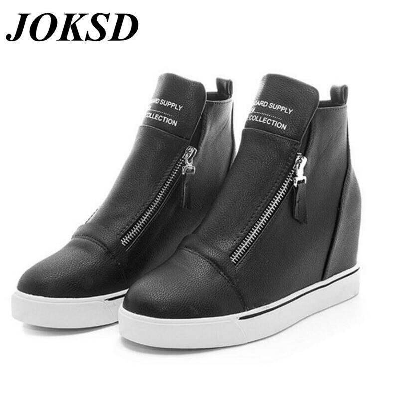 Prix pour JOKSD Nouvelle annonce vente chaude Respirant femmes chaussures de Sport Planche À Roulettes Chaussures femmes sneakers A120
