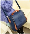 2014 de la vendimia de las mujeres bolsa de mensajero de un hombro de LA PU bolso de cuero del Envío Libre RJ037