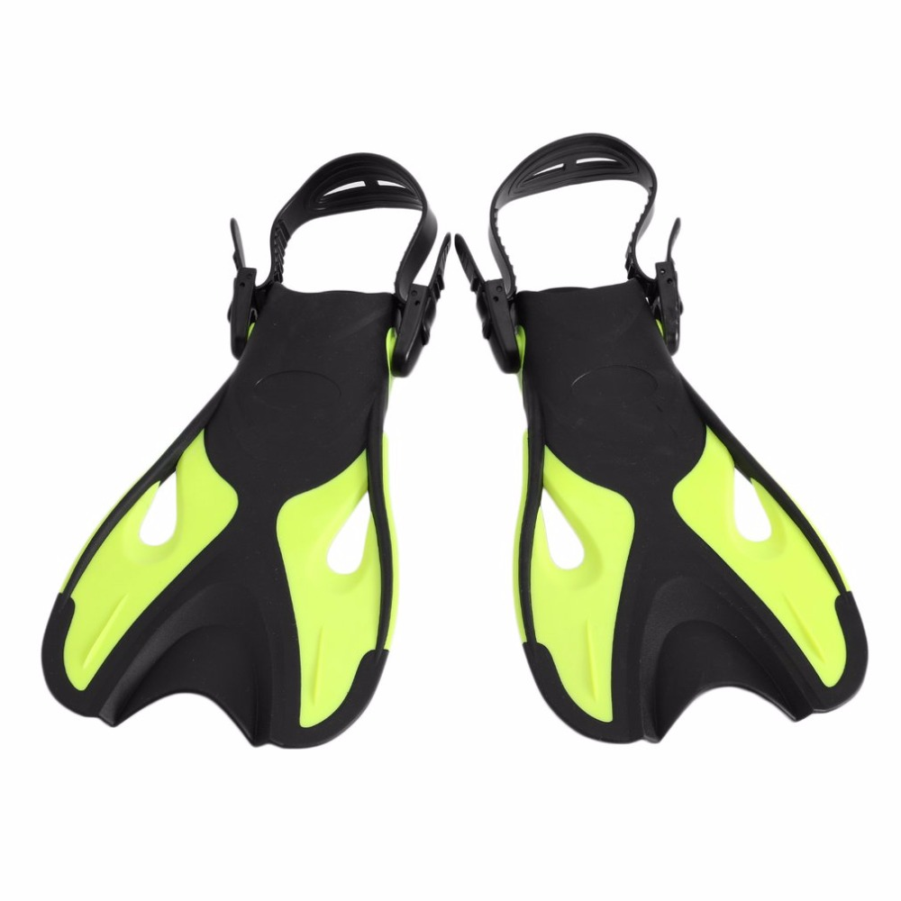 AF-702 Adjustable Adult Long Fins TPR Full Foot Swimming Snorkeling Flippers Outdoor Water Sports Diving Training Equipment