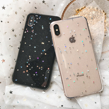 For iphone 7 8 plus iphone XR XS X 10 8plus Case Glitter Star Silicon Cover for iphone 6s 6 s plus iphone 11 XS MAX XR 5s Cases cheap GAGP Fitted Case Bling stars crystal clear Apple iPhones iPhone 5 iPhone 6 Plus iPhone 6s plus iPhone 5s iPhone SE iPhone 7 Plus
