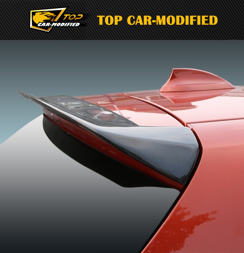 Free Shipping hot sale best price carbon spoiler fiber 1 series roof rear spoiler For Bmw F20 116 118 120 125 M135i parts 07 up